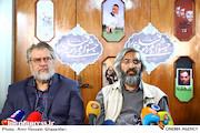 وحید جلیلی و نادر طالب زاده در نشست خبری نهمین جشنواره فیلم مردمی عمار