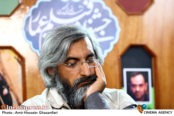 وحید جلیلی در نشست خبری نهمین جشنواره فیلم مردمی عمار