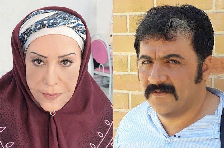 شهرام عبدلی و شهربانو موسوی