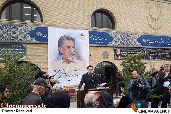 مراسم تشییع پیکر صادق عبداللهی