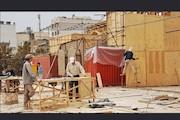 ساخت دکور نمایش میدانی «رسول»
