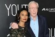 مایکل کین و همسرش