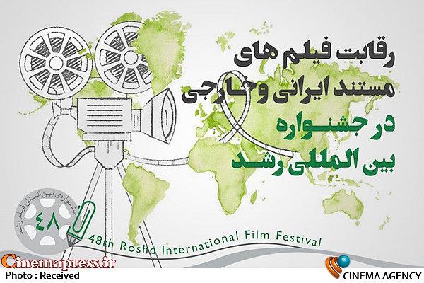 فیلمهای ایرانی و خارجی بخش مستند چهل و هشتمین جشنواره بین المللی فیلم رشد