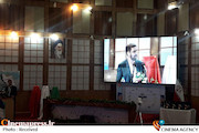 مراسم افتتاح رادیو انقلاب با حضور حمید شاه آبادی