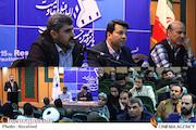 نشست هم اندیشی مسئولانِ پانزدهمین جشنواره فیلم مقاومت با حضور محمد خزایی