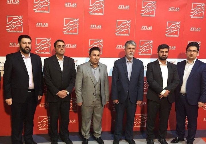 افتتاح اولین سینمای اختصاصی کودکان در ایران توسط وزیر ارشاد