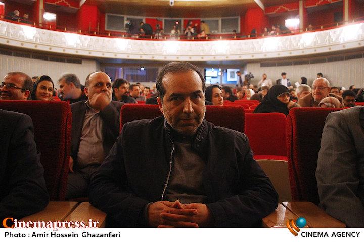 حسین انتظامی در افتتاحیه پانزدهمین جشنواره بین المللی فیلم مقاومت