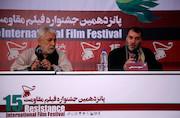 مسعود ده نمکی در پانزدهمین جشنواره بین المللی فیلم مقاومت