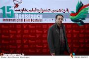 علی دهکردی در پانزدهمین جشنواره بین المللی فیلم مقاومت