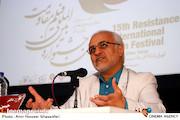 حسن عباسی در پانزدهمین جشنواره بین المللی فیلم مقاومت