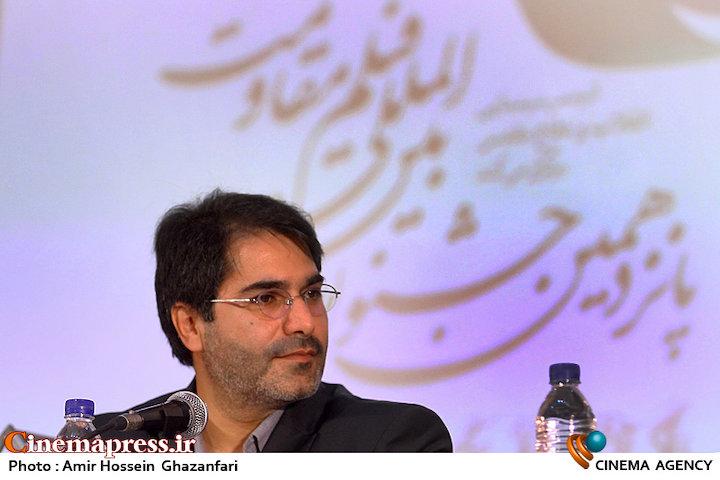 سیدمحمد حسینی در پانزدهمین جشنواره بین المللی فیلم مقاومت