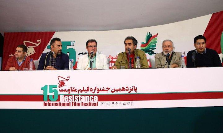 پانزدهمین جشنواره فیلم مقاومت/ نشست نقد و بررسی فیلم «دایان»