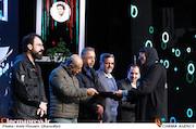فاطمه الهیار نژاد در اختتامیه شانزدهمین جشنواره سراسری تئاتر مقاومت