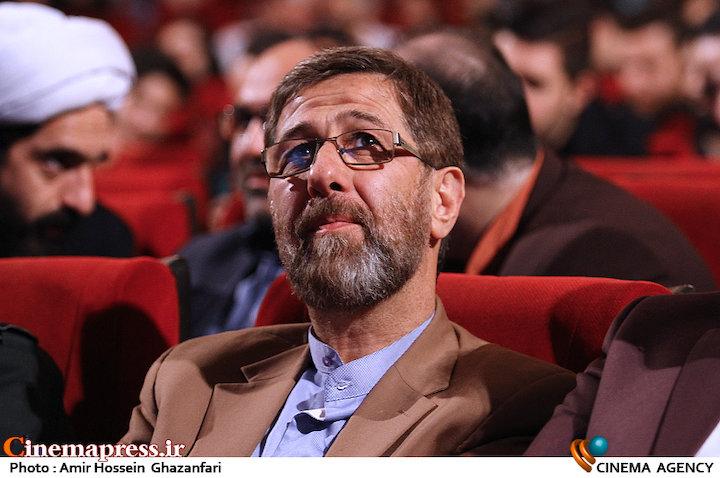 حمید شاه آبادی در اختتامیه شانزدهمین جشنواره سراسری تئاتر مقاومت