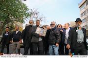 مراسم تشییع پیکر مرحوم «فرجالله حیدری»
