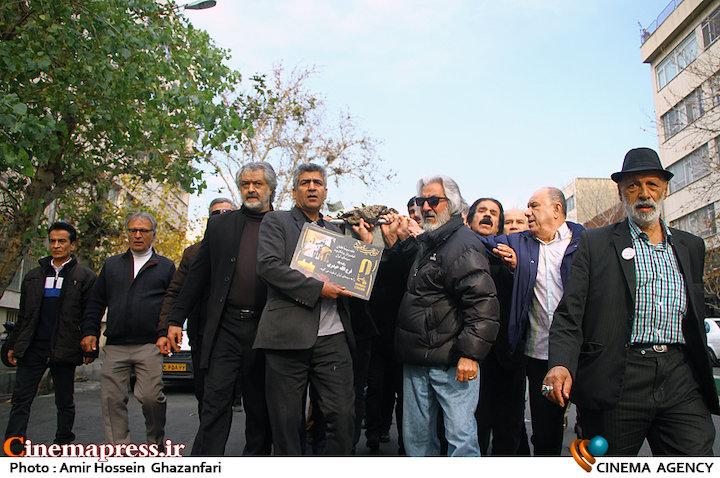 عکس/ مراسم تشییع پیکر مرحوم «فرجالله حیدری»