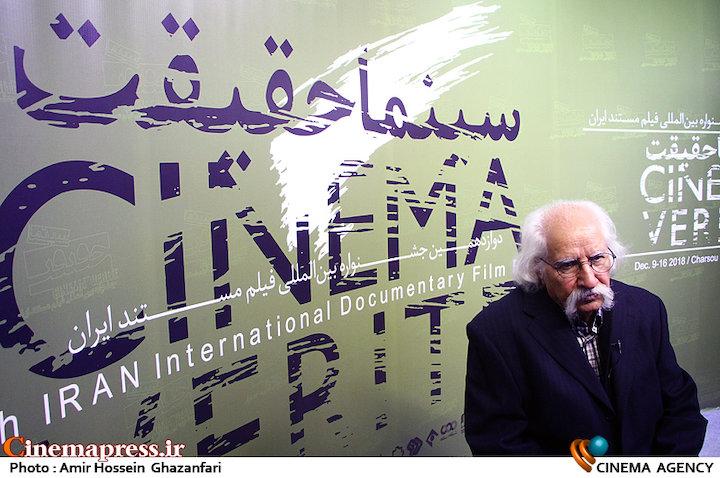 حسین ترابی در مراسم افتتاحیه دوازدهمین جشنواره بینالمللی «سینماحقیقت»