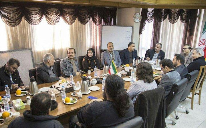دیدار شورای سیاستگذاری جشنواره کودکآنلاین با عضو شورای شهر تهران