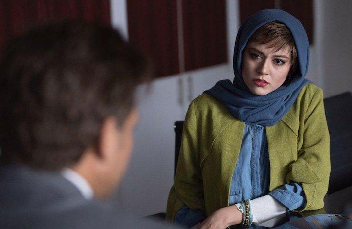 ماهور الوند در سریال نمایش خانگی «نهنگ آبی»
