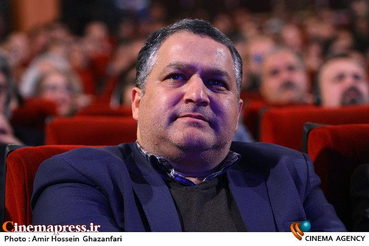 علیرضا تابش در اختتامیه دوازدهمین جشنواره بینالمللی سینما حقیقت