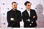 امیرحسین آرمان و میلاد کی مرام در دوازدهمین جشن منتقدان و نویسندگان سینمایی ایران