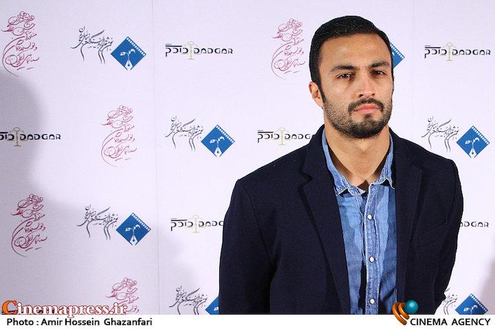 امیر جدیدی در دوازدهمین جشن منتقدان و نویسندگان سینمایی ایران