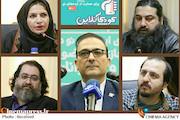 اعضای ستاد اجرایی جشنواره کودک آنلاین