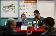 النا سوبیرا مدير برنامهریزی جشنواره فیلمهای مستند بارسلون