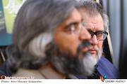 نادر طالب زاده و وحید جلیلی در دومین نشست خبری نهمین جشنواره مردمی فیلم عمار