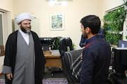 بازدید رییس سازمان تبلیغات اسلامی از دبیرخانه جشنواره «عمار»