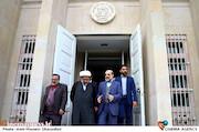 بازدید علی عسگری از پشت صحنه سریال «نفوذ»