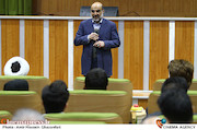 بازدید علی عسکری از پشت صحنه سریال «نفوذ»