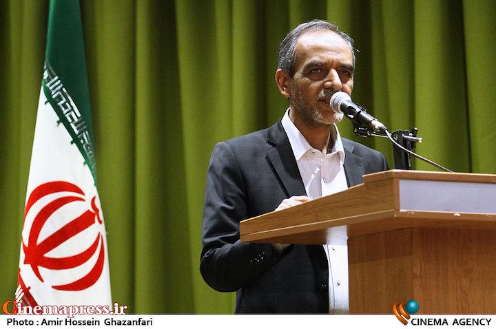 سخنرانی محسن علی اکبری در بازدید علی عسگری از پشت صحنه سریال «نفوذ»