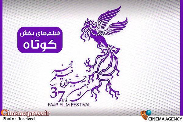فیلمهای کوتاه سی و هفتمین جشنواره ملی فیلم فجر