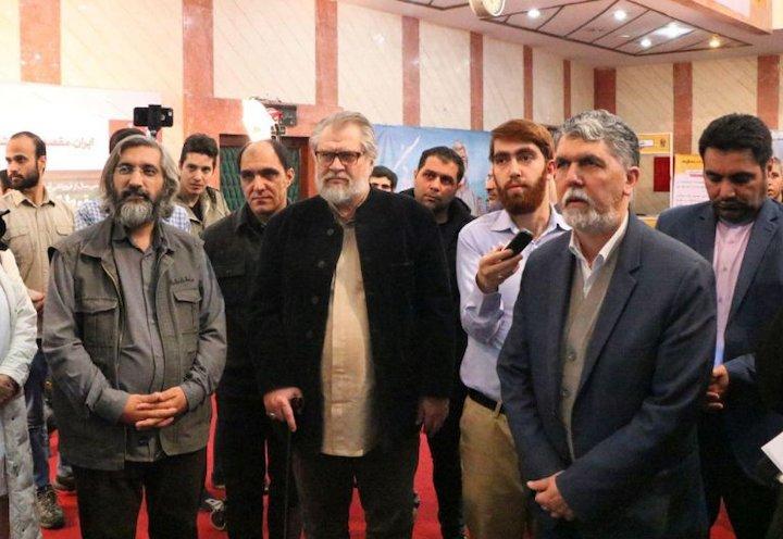 حضور وزیر ارشاد در جشنواره عمار