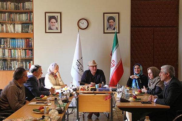 بازدید رماننویس الجزایری از بنیاد فارابی