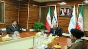 بازدید نمایندگان مجلس از شبکه پرس تی وی