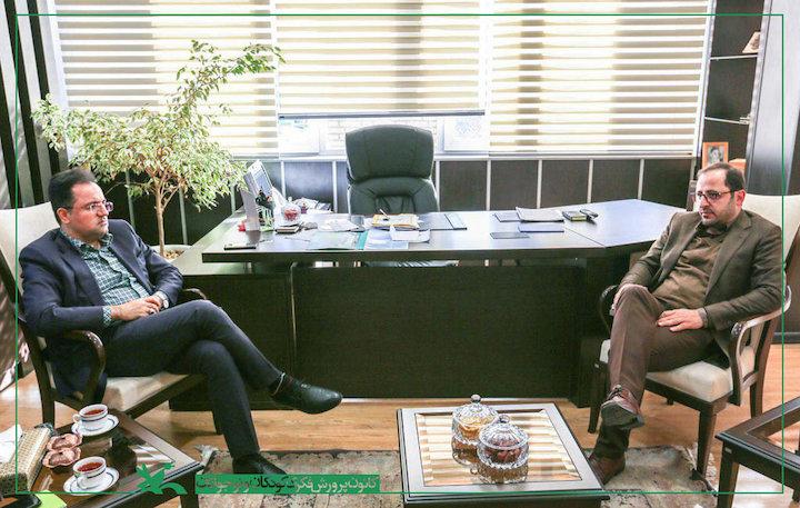 فاضل نظری و سیدمحمدحسین حجازی