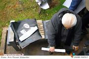 مراسم تشییع پیکر مرحوم «حسین محب اهری»