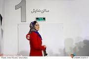 نيلوفر رجایی فر در مراسم اکران مردمی اولین قسمت سریال هشتگ خاله سوسکه