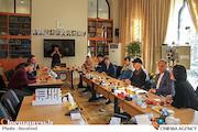 دیدار معاون امور بینالملل بنیاد سینمایی فارابی و مدیران شرکت توسعه فرهنگی ژوجیان