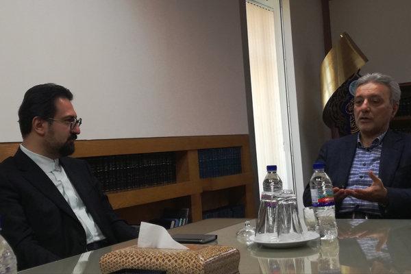 نشست مشترک معاون هنری وزیر فرهنگ و ارشاد اسلامی و رییس دانشگاه تهران