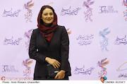 شبنم مقدمی در افتتاحیه سیوهفتمین جشنواره فیلم فجر