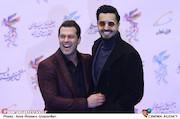 صدیقیان و بازغی در افتتاحیه سیوهفتمین جشنواره فیلم فجر