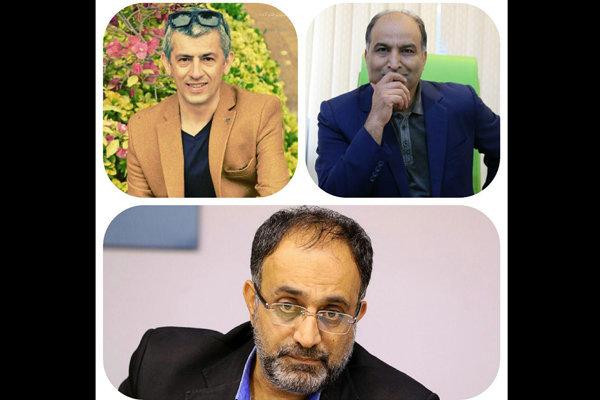 سیروس همتی، محسن سلیمانی و مجید امرایی