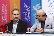 نشست خبری فیلم سینمایی «پالتو شتری»؛ مجید شیخ انصاری