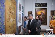 دومین بازدید وزیر ارشاد از جشنواره هنرهای تجسمی فجر
