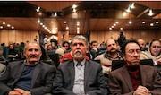 وزیر ارشاد در حاشیه دیدار از سی و چهارمین جشنواره موسیقی فجر