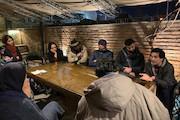 نشست رسانه ای پروژه مشترک تئاتر ایران و فرانسه با عنوان «فضاسازی»