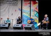 اجرای گروه موسیقی روشنا با آواز مظفر شفیعی